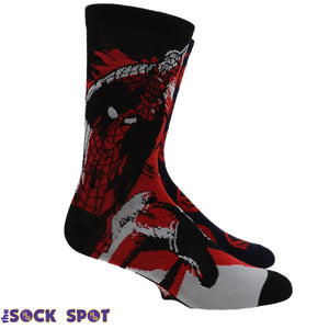 2 Pair Pack Spider-Man Spidey Socks - The Sock Spot