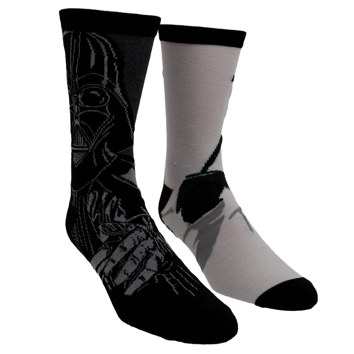 2 Pair Pack Star Wars Dark Side Socks - The Sock Spot