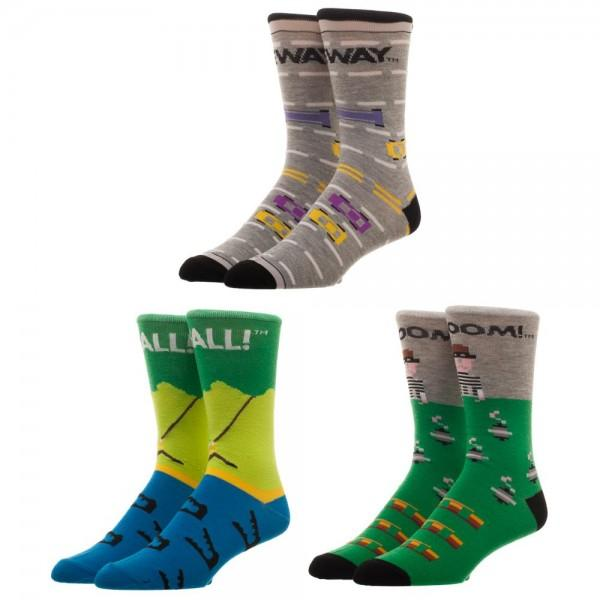 3 Pair Box Activision Socks - The Sock Spot