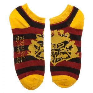 3 Pair Pack Hogwarts Harry Potter Ankle Socks - The Sock Spot