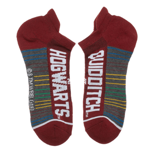 3 Pair Pack Harry Potter Quidditch Athletic Ankle Socks - The Sock Spot