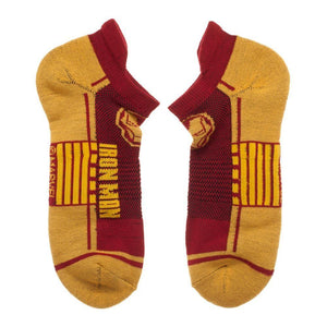 3 Pair Pack Marvel Avengers Athletic Superhero Ankle Socks - The Sock Spot