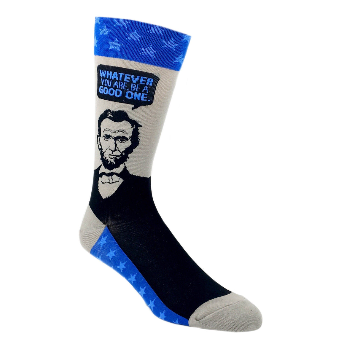Abe Lincoln Quote Socks by Foot Traffic - The Sock Spot