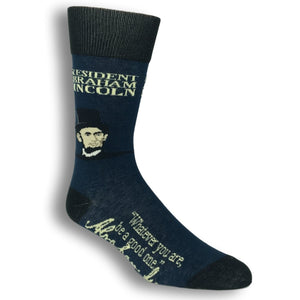 Abraham Lincoln Signature Socks by Funatic - The Sock Spot