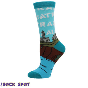 Alcatraz Women's Socks by Oooh Yeah Socks - The Sock Spot