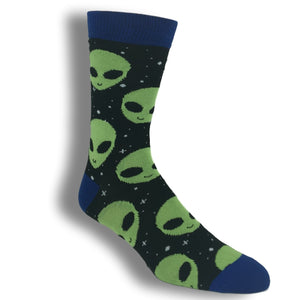 Aliens All Over Socks - The Sock Spot