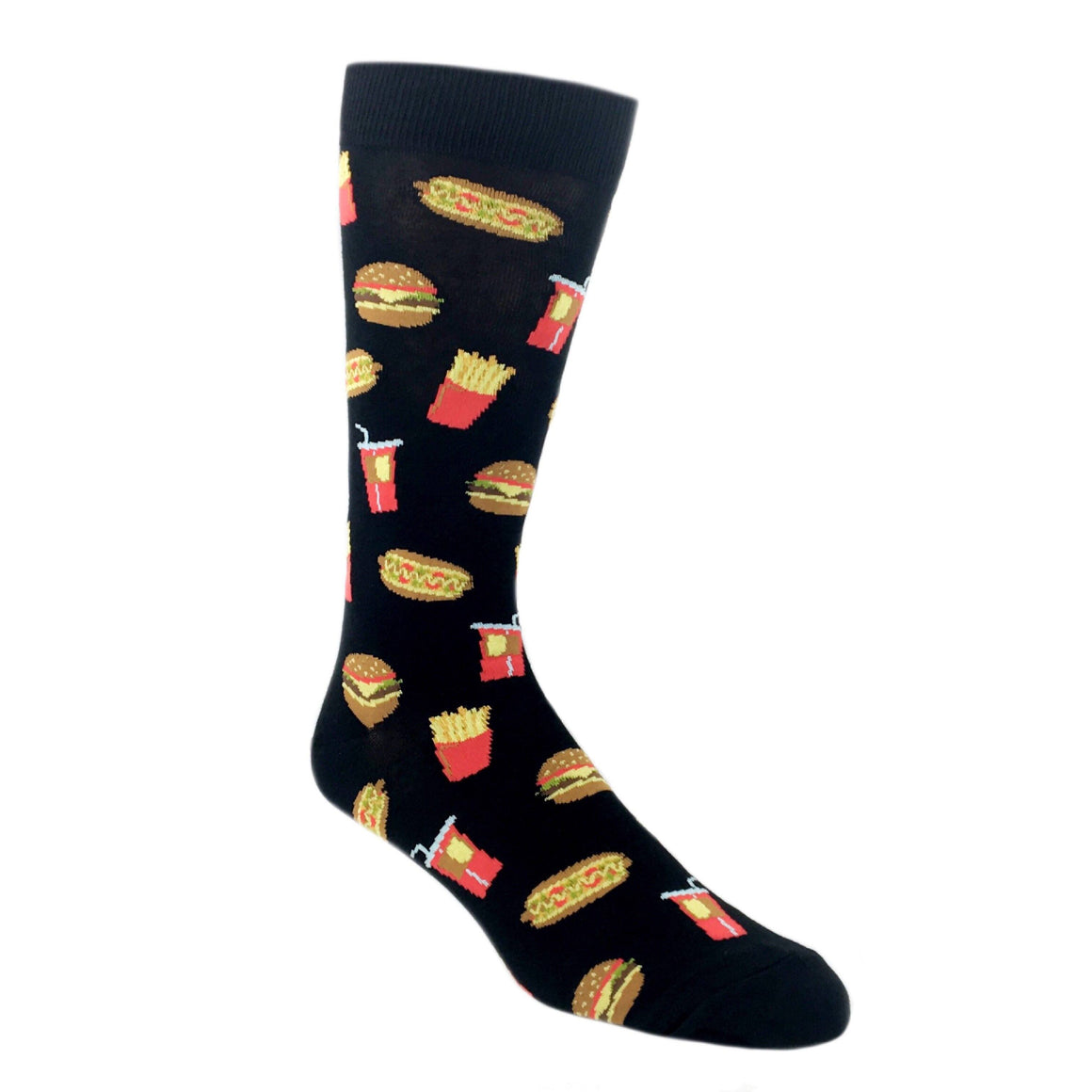 American Fast Food Socks by K.Bell - The Sock Spot