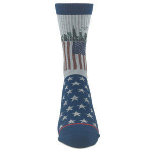 American Flag Printed Socks by Good Luck Sock - The Sock Spot