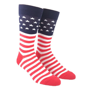 American Flag Red, White, and Blue Socks by Foot Traffic - The Sock Spot