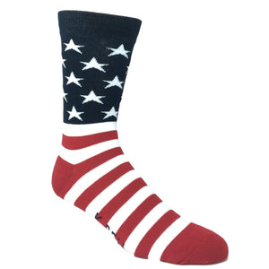 American Flag Socks - Made In America by K.Bell - The Sock Spot