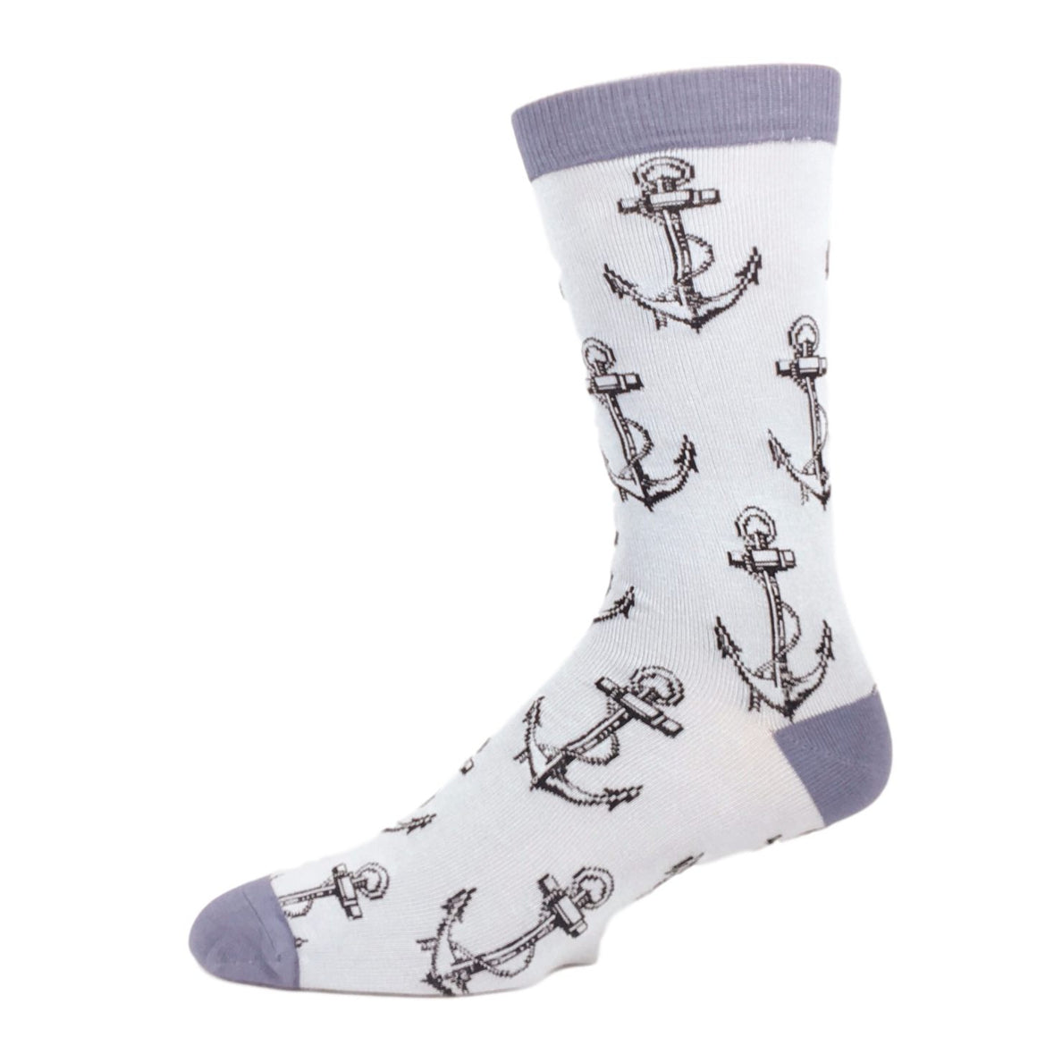 Anchors Away Bamboo Socks by SockSmith - The Sock Spot