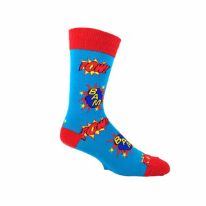 Bam! Pow! Socks by SockSmith - The Sock Spot
