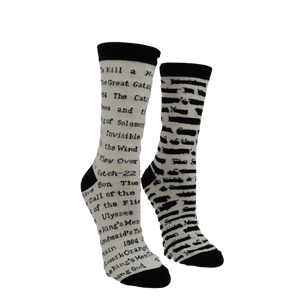 Banned Books Socks - Small by Out of Print - The Sock Spot
