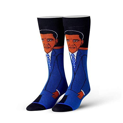 Barack Obama 360 Men's Socks by Cool Socks - The Sock Spot