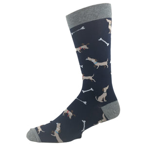 Best Friend Dog and Bone Socks by K.Bell - The Sock Spot