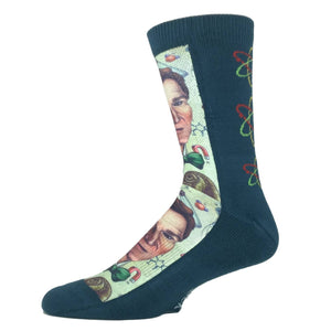 Bill Nye the Science Guy Printed Socks by Good Luck Sock - The Sock Spot