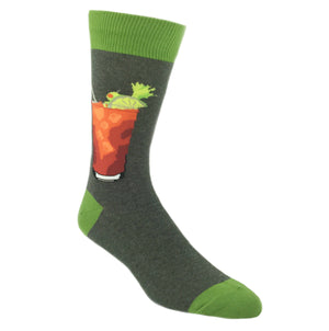 Bloody Mary Drink Socks by SockSmith - The Sock Spot