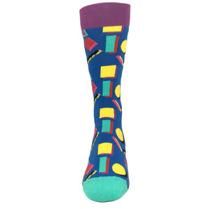 Blue and Purple 90's Socks by Happy Socks - The Sock Spot