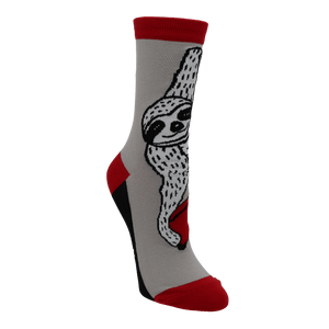 Book Sloth Socks - Small by Out of Print - The Sock Spot