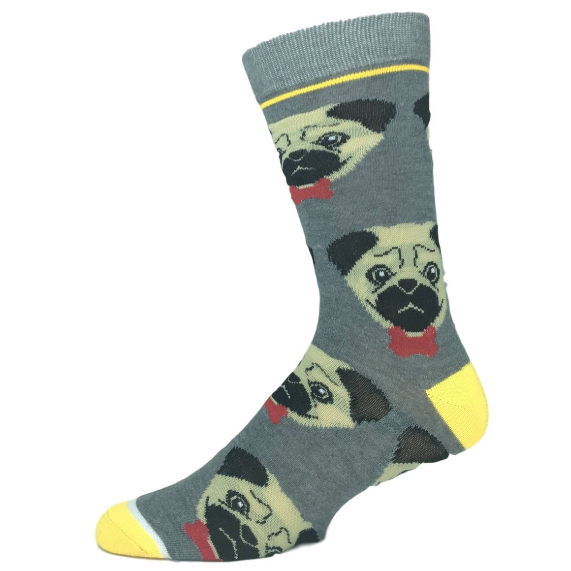 Bow Tie Pug Socks - The Sock Spot
