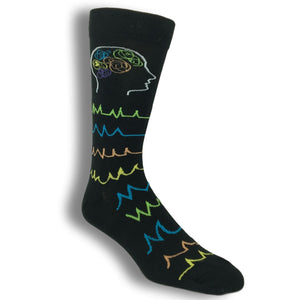 Brainiac Thinking Socks by K.Bell - The Sock Spot
