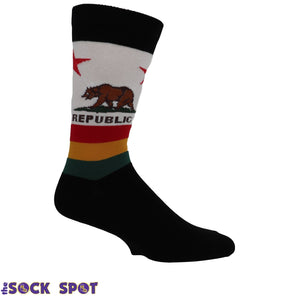 California Flag Men's Socks by SockSmith - The Sock Spot