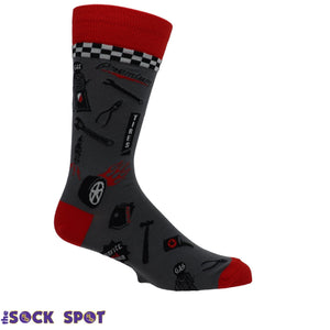 Car Mechanic Socks by Foot Traffic - The Sock Spot