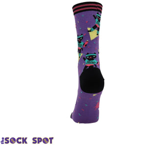 Cat-Ercise Women's Socks by Sock it to Me - The Sock Spot