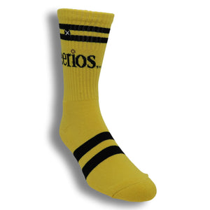 Cheerios Cereal Athletic Socks by Odd Sox - The Sock Spot