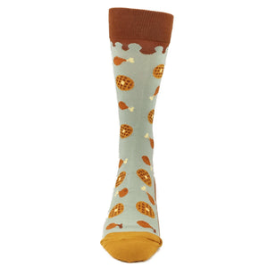 Chicken and Waffles Food Socks by Foot Traffic - The Sock Spot