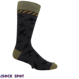 Classic Airplanes Men's Socks by Foot Traffic - The Sock Spot