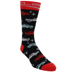 Classic Cars Socks by Foot Traffic - The Sock Spot