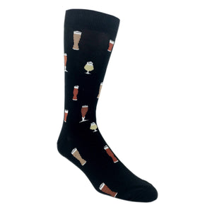 Craft Beer Drink Socks by K.Bell - The Sock Spot