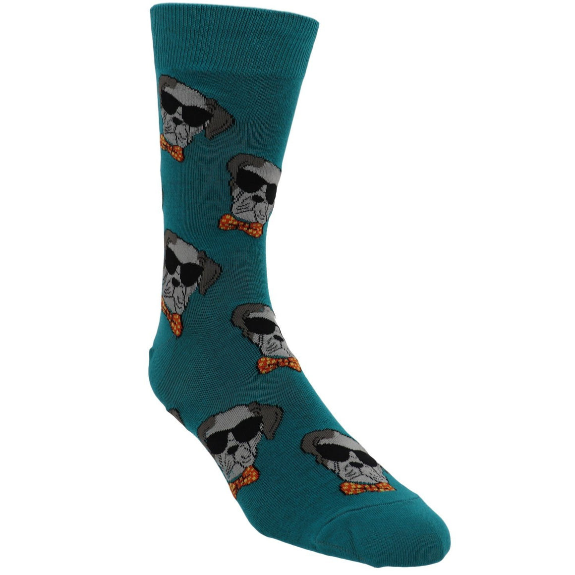 Dapper Dogs Men's Socks by Good Luck Sock - The Sock Spot