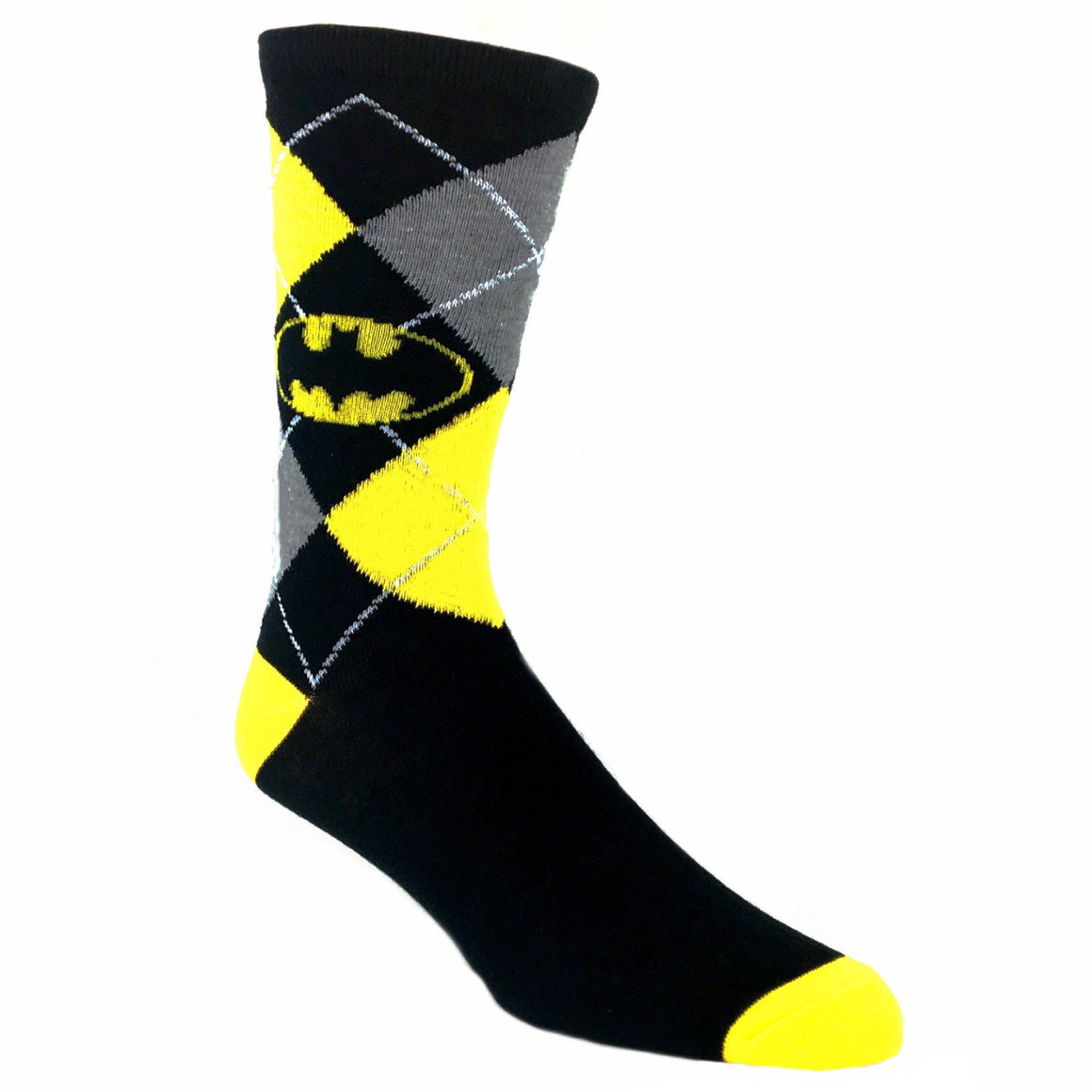 DC Comics Batman Argyle Socks - The Sock Spot