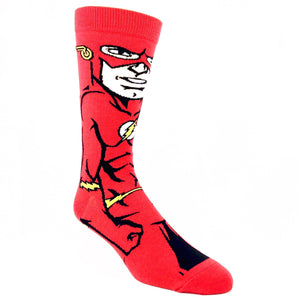 DC Comics Flash 360 Superhero Socks - The Sock Spot