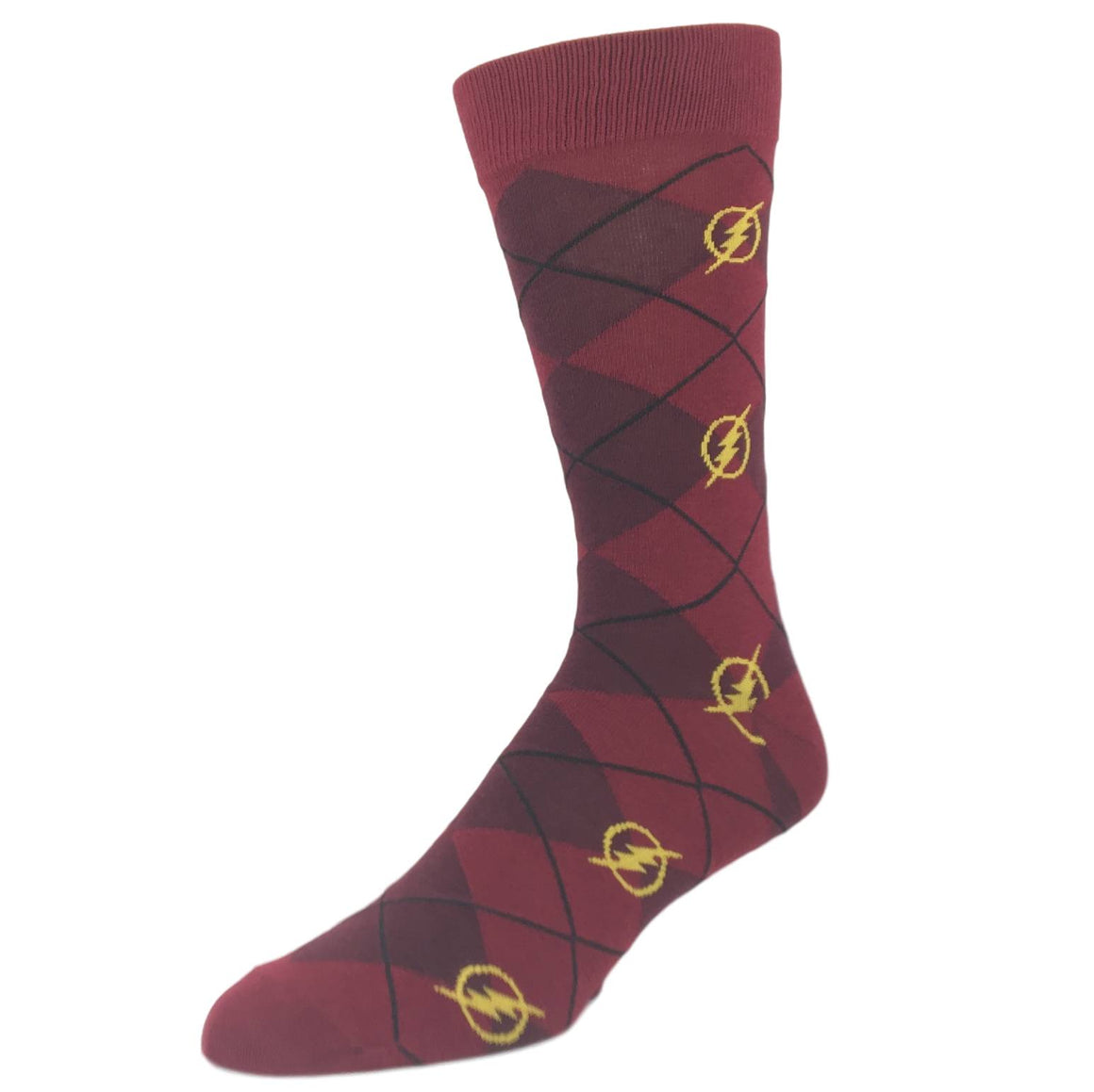 DC Comics Flash Superhero Dress Socks - The Sock Spot