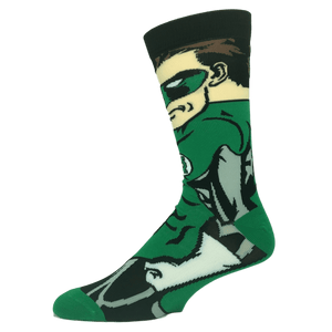 DC Comics Green Lantern 360 Superhero Socks - The Sock Spot