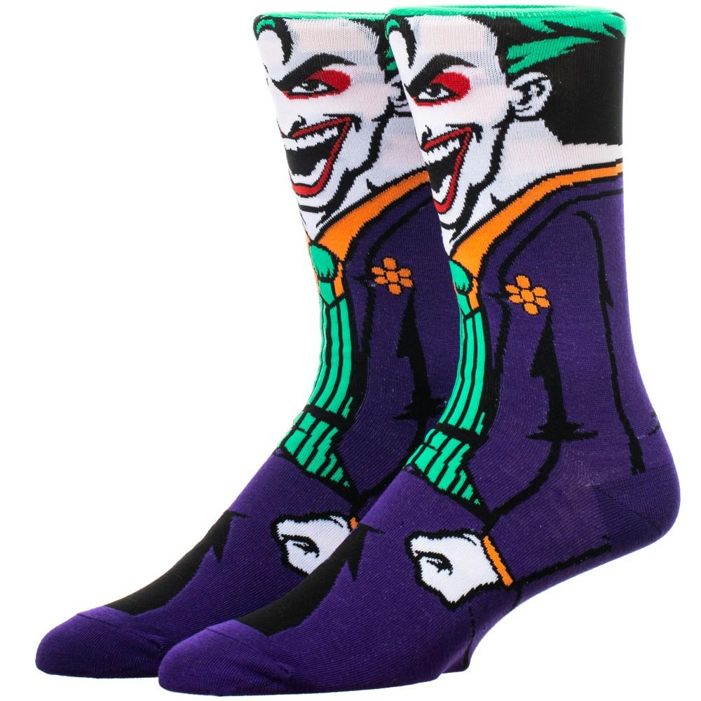 DC Comics Joker Rebirth 360 Socks - The Sock Spot