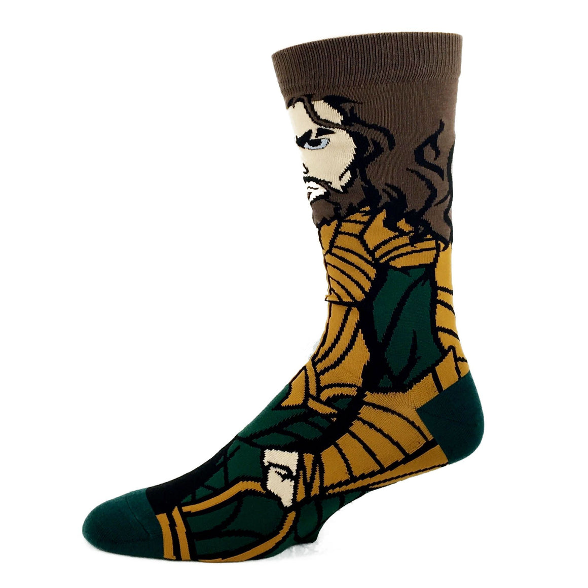 DC Comics Justice League Aquaman 360 Superhero Socks - The Sock Spot