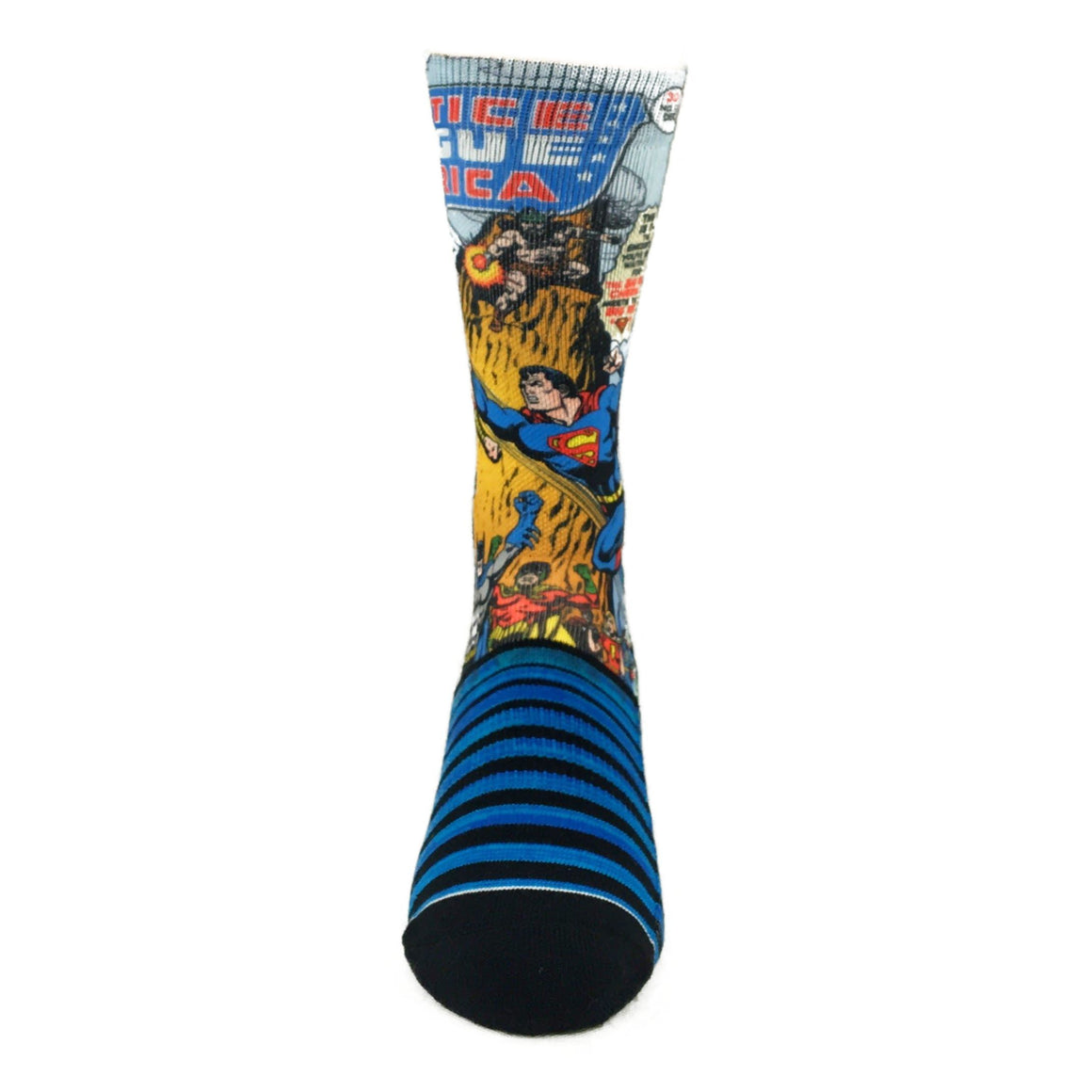 DC Comics Justice League of America Printed Socks - The Sock Spot