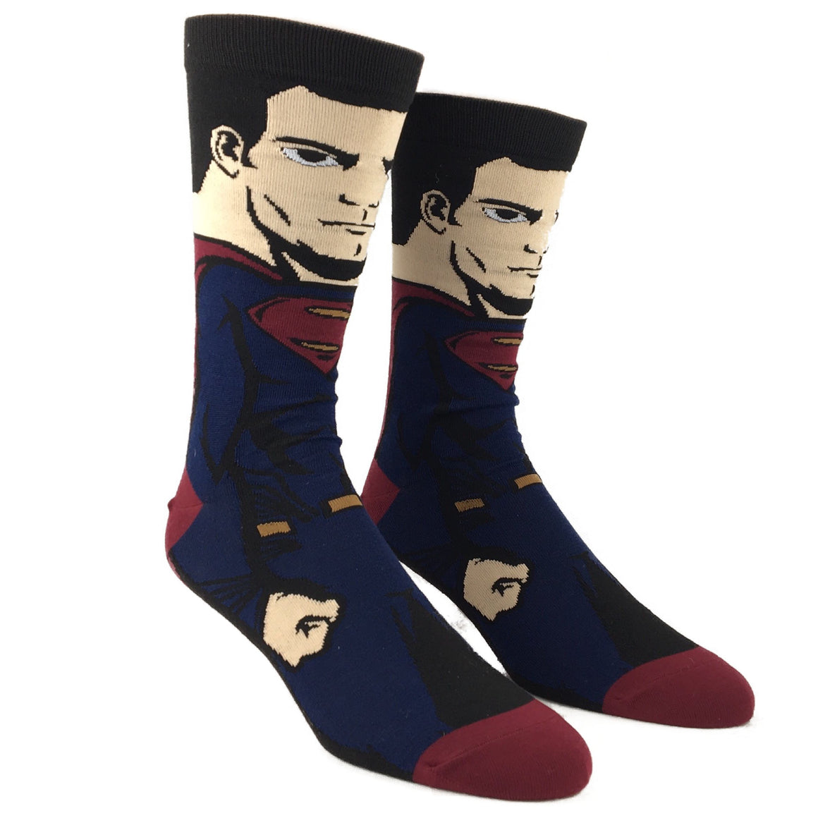 DC Comics Justice League Superman 360 Superhero Socks - The Sock Spot