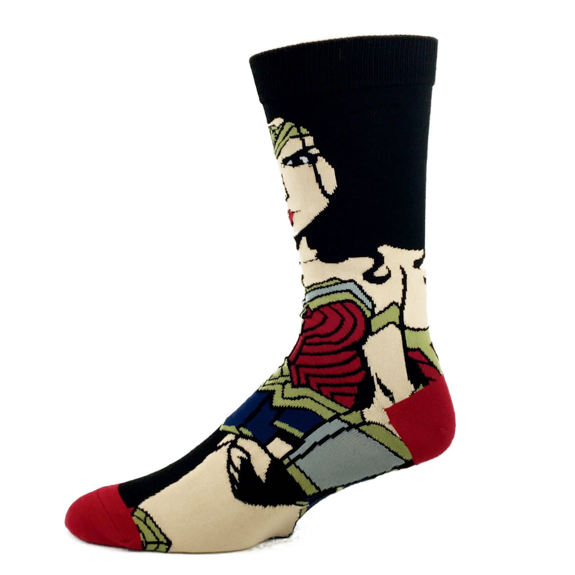DC Comics Justice League Wonder Woman 360 Superhero Socks - The Sock Spot