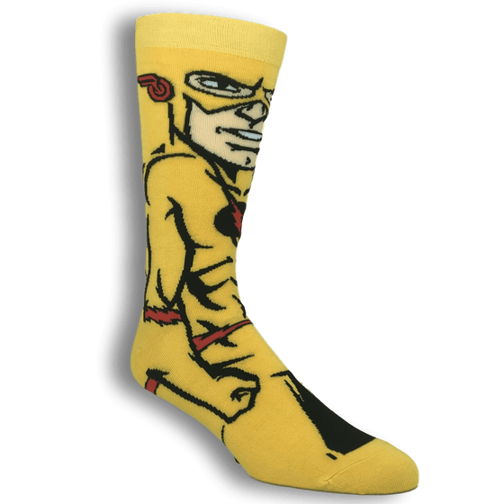 DC Comics Reverse Flash 360 Superhero Socks - The Sock Spot