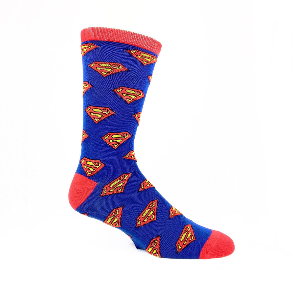 DC Comics Superman Logo Repeat Socks - The Sock Spot