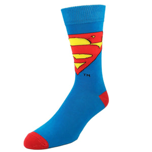 DC Comics Superman Logo Socks - The Sock Spot