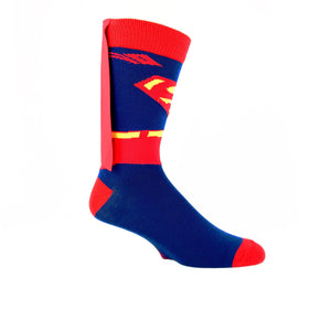 DC Comics Superman Super Suit Caped 3D Socks - The Sock Spot