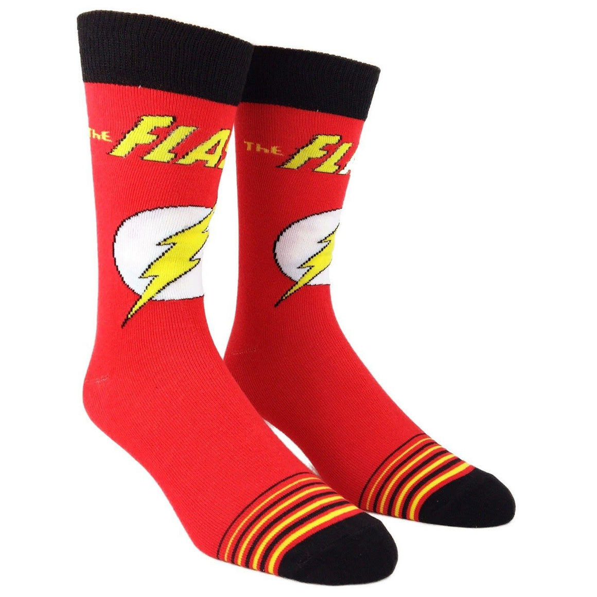 DC Comics The Flash Logo Socks - The Sock Spot