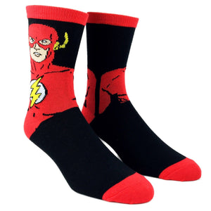 DC Comics The Flash Superhero Socks - The Sock Spot