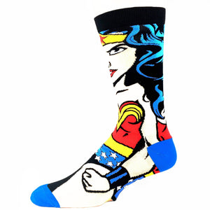 DC Comics Wonder Woman 360 Superhero Socks - The Sock Spot